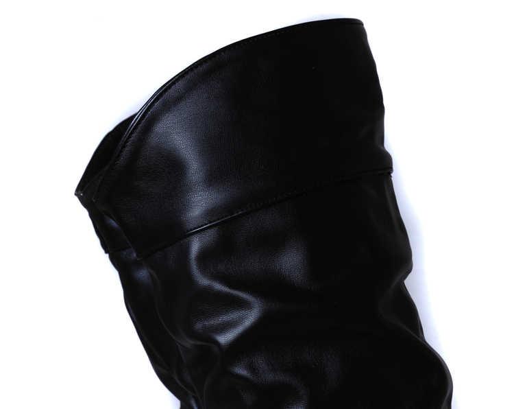 2018 yeni gelmesi orta buzağı Kadın Çizmeler Siyah Beyaz Kahverengi düz topuklu yarım çizmeler sonbahar kış moda motosiklet botları