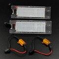 Luzes LED Placa de Licença para Vauxhall Opel Corsa Astra H J C D Insígnias Tigra Twintop B C Vectra Zafira B OPC