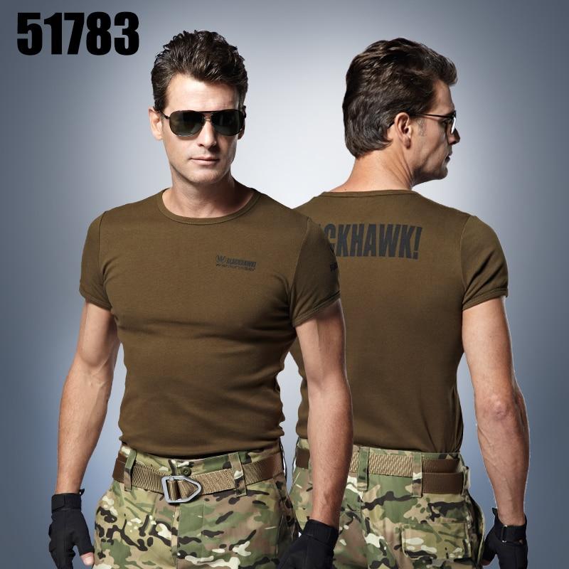 51783 Venku Taktické triko Pánské tričko armádní tričko Vojenské tričko Tričko Plus Velikost M-3XL Roupas Masculinas