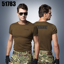 51783 Outdoors Tactical T Shirt Men Army T-shirt Military Tshirt Dry Sport Tee Shirts Plus Size M-3XL Roupas Masculinas