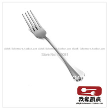 Stainless steel dessert fork pastry fork small fork thick