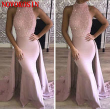 Винтажное атласное платье с бисером и кристаллами вечернее лямкой