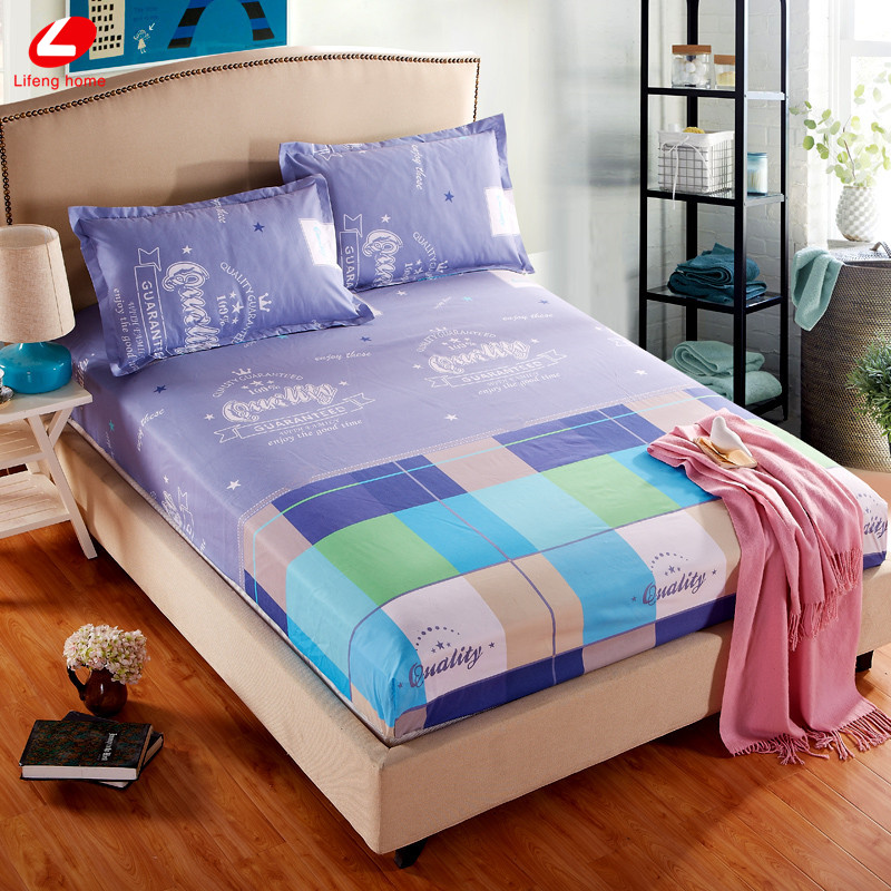 Home textile bed sheet sheet flower mattress cover printing bed sheet elastic rubber bedclothes 180*200cm summer bedspread band 23