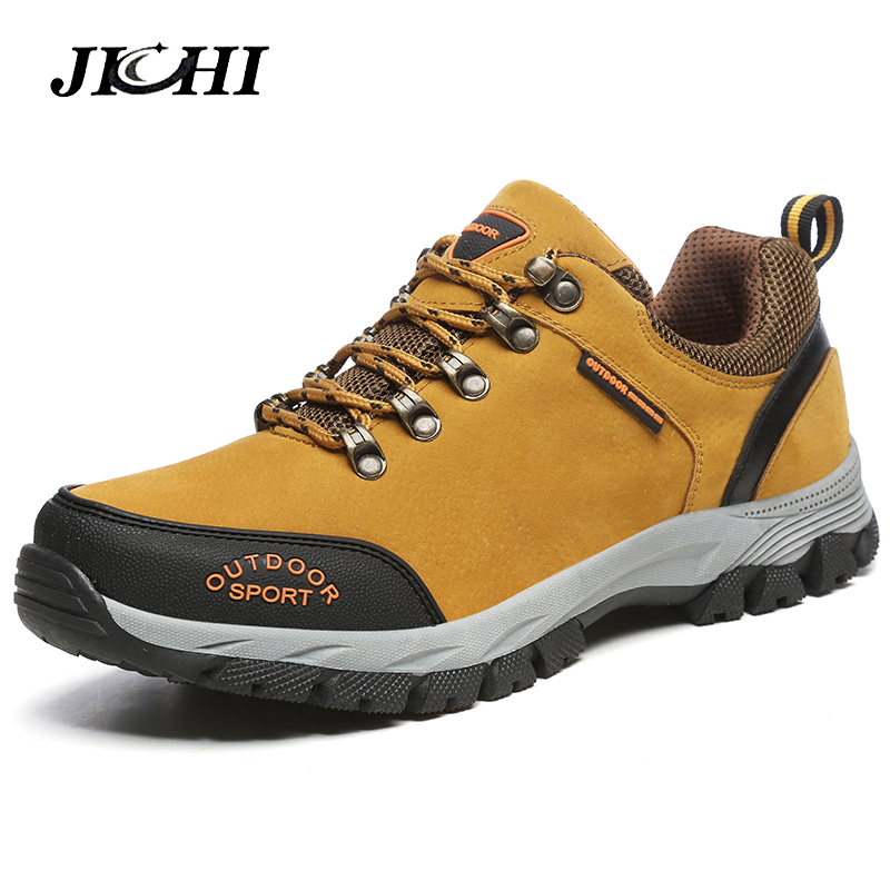 2018 New Mens Hiking Boots Tactical Shoes Breathable Outdoor Boots Shoes Men Non-slip Hiking Boots Men Mountain Footwear