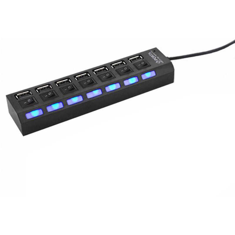 009 USB1.1 Independent Seven HubUSB One Seven Independent Switch USB Multi-in-one Hub-SCLL