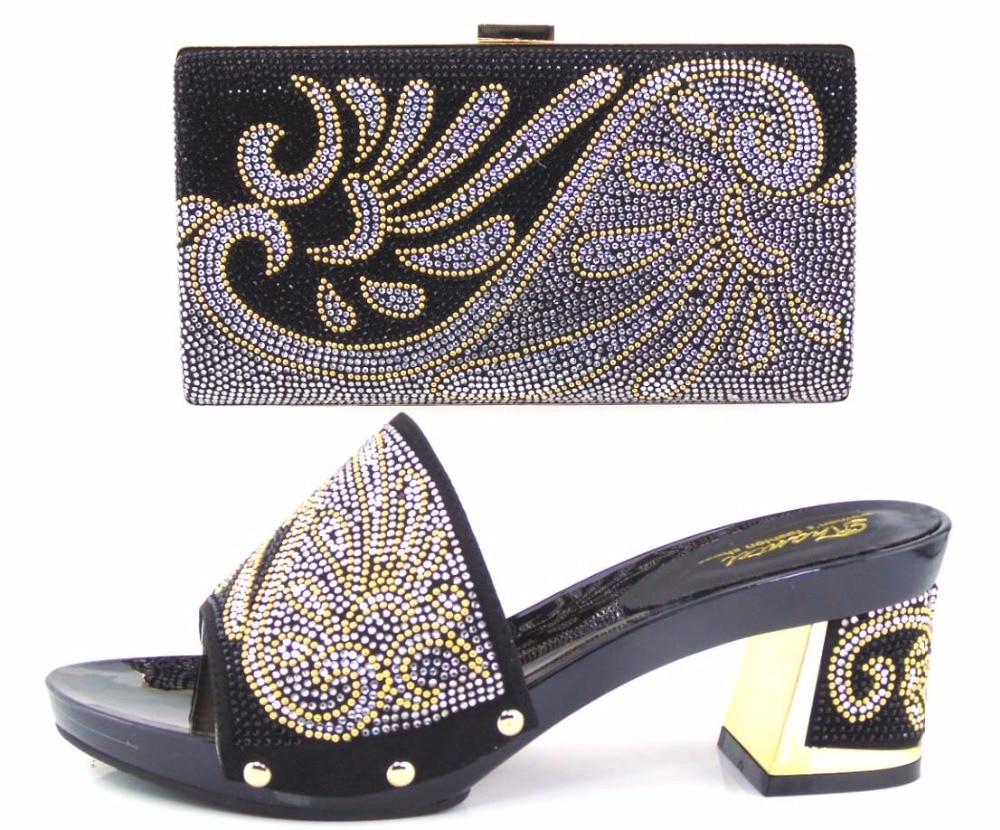 Black dress heels 7 cm