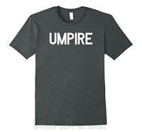 Funny Tee Shirt Hipster Summer Umpire T Shirt Officiator Team Sportsy Game Match Baseball