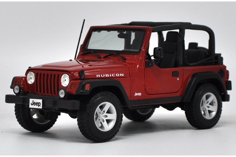 * 1/18 Car Model for Jeep Wrangler Rubicon Cabrio Off Road Vehicle SUV Alloy Toy Car maisto jeep wrangler rubicon fire engine 1 18 scale alloy model metal diecast car toys high quality collection kids toys gift