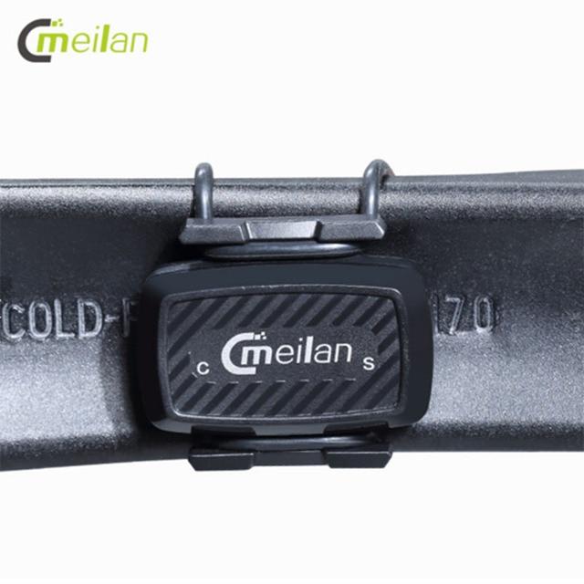 $ US $18.97 Bicycle accessories Cadence speedometer Bluetooth cycling sensor 4.0 ANT Internal rotation track Meilan C1  GIYO speed sensor