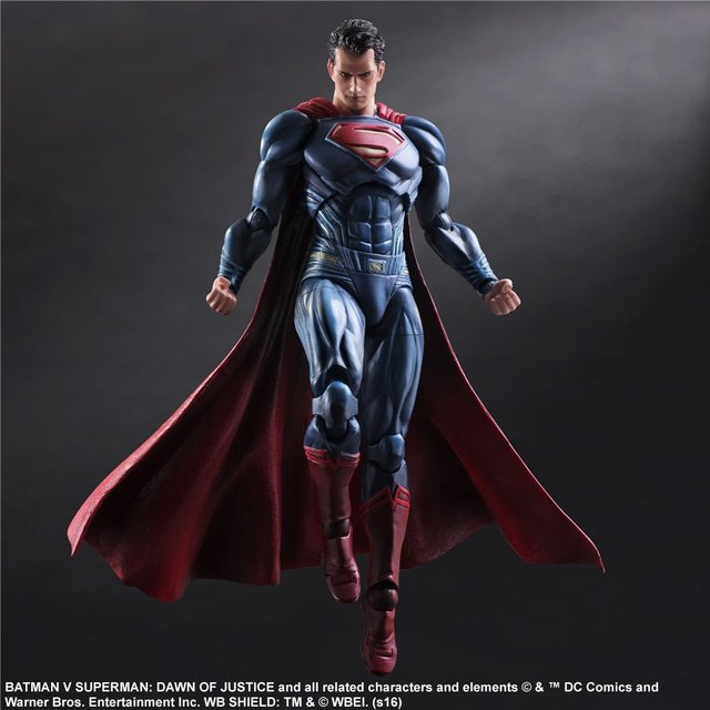 Фигурка Супермен 28 см Бэтмен против Супермена PlayArts 1