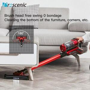 Image 4 - Proscenic I9 Cordless Vacuum Cleaner 22000Pa Powerful 2in1 lightweight Handheld Vacuum with Recharging Li ion battery LED Brush