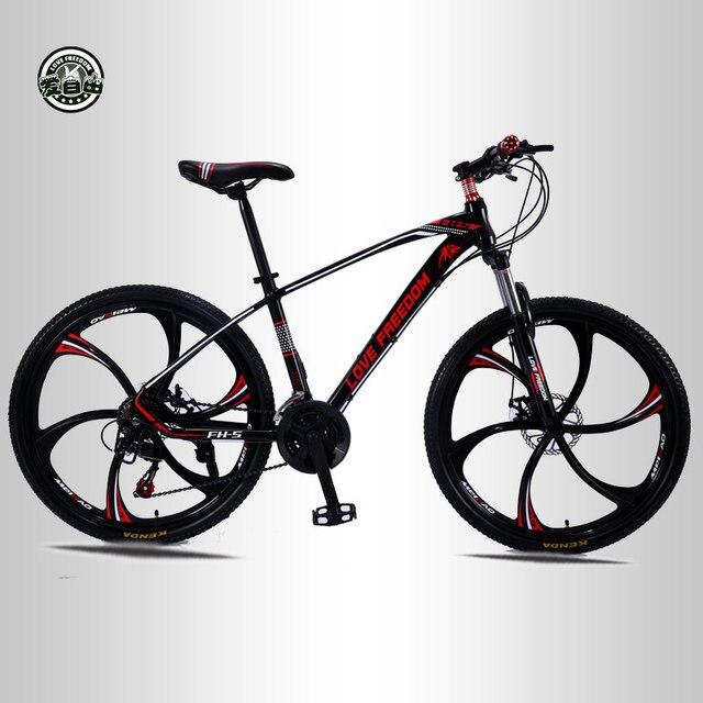 אהבת חופש 21 מהירות 26 אינץ אופני הרי אופניים כפולים בלמי דיסק תלמיד אופני Bicicleta אופני כביש משלוח חינם