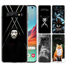 Case for Samsung Galaxy A50 A70 S10e S10 Plus 5G Lite M30 M20 M10 Cell Phone Cases Cover Coque fox lowrie V For Vendetta(China)