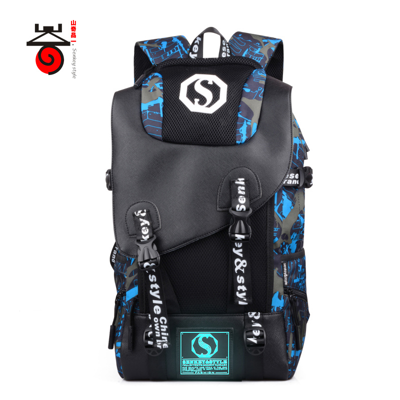 2018 Senkey style Men's Backpacks Mochila For Women Teenage Student School Bags Casual Trave 14-15Inch Laptop Bag Male Rucksack цена и фото