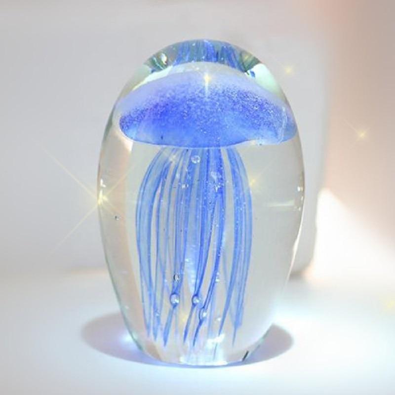 Us 250 świecące Meduzy Szkło Kryształowe Ball Nowość Gospodarstw Domowych Domu Przedmioty Dekoracyjne Prezent Na Boże Narodzenie Kolekcjonerska