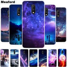 Silicone Case For OnePlus 7T Pro Case One Plus 7Pro Cover Soft Art Print Back Cover For One Plus 7T 7 Pro Clear bumper Case original new back glass oneplus 7 7t pro battery cover door one plus 7t rear housing case oneplus 7 pro battery cover panel