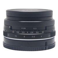 Venidice Майке 28 мм большая Апертура f2.8 Руководство Multi Покрытием Фокус объектива APS-C для Sony NEX3 NEX5 NEX6 NEX7 A5000 A5100 A6000