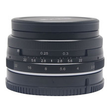 Venidice Meike 28mm f2.8 large Aperture Manual Multi Coated Focus lens APS-C for Sony NEX3 NEX5 NEX6 NEX7 A5000 A5100 A6000