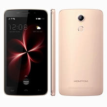 Original Homtom HT17 Pro Smartphone 5.5 Inch Android 6.0 MTK6737 Quad Core Cellphone BT 4.0 2G+16G Fingerprint Mobile Phone