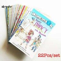 22 шт./компл. Fancy Nancy I Can Read Level 1 книги на английском языке для девочек/детей английские книги