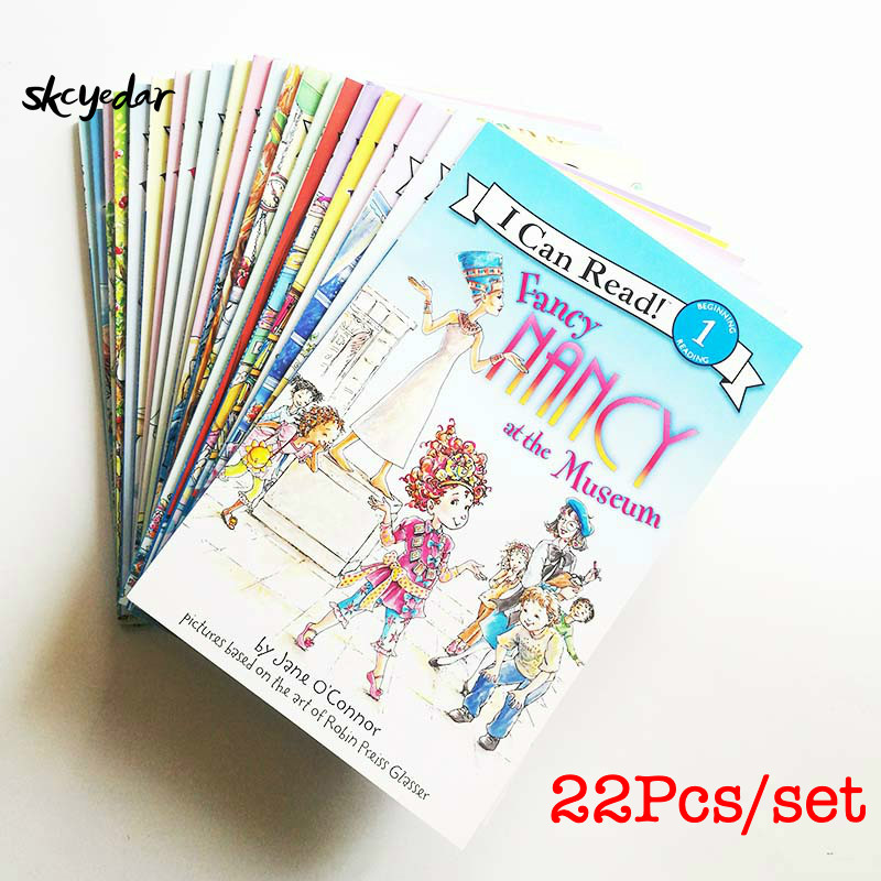 Us 112 87 22pcs Set Fancy Nancy I Can Read Level 1 English Story Books For Girls Kids Children English Books In Books From Office School Supplies