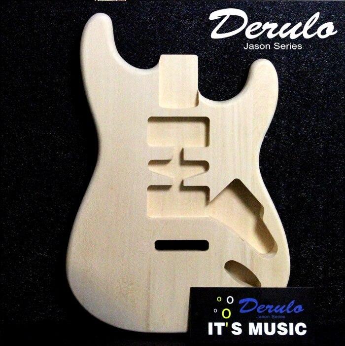 Tilleul guitare électrique corps guitare électrique kit kits tilleul ST  style e2afdd08bdf