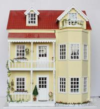 Diy Big Doll House Romantic with light Villa Design