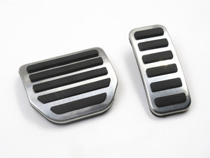 Image 4 - Car Accelerator Gas Foot rest Modified Pedal Pad for Land Range Rover Sport Discovery 3 4 LR3 LR4 Refit Decorate Accessory
