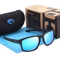 Мужские квадратные солнцезащитные очки вождения оттенки мужское Зеркало поляризованных солнцезащитных очков для Для мужчин ретро Брендов...