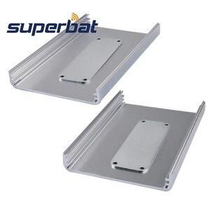 Image 3 - Superbat électronique extrudé boîtier en aluminium boîtier Instrument PCB alimentation amplificateur boîte bricolage 110*71*26mm