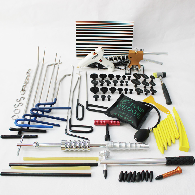 car body repair pdr tools dent puller kit slide hammer dent rods pump wedge auto panel glue puller tabs set dent ding remover in Sheet Metal Tools Set from Automobiles Motorcycles