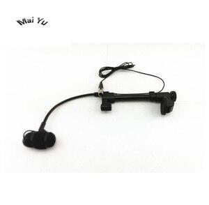 Image 5 - Micrófono para guitarra profesional, instrumento de música, condensador, Lapela, transmisor inalámbrico Shure XLR Mini, 4 pines, Phantom