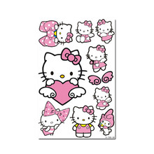 Sticker and Decal 4 Kinds of Hello Kitty Series Lovely Decals Suitcase Laptop Refrigerator Sticker (non water-proof)(China)
