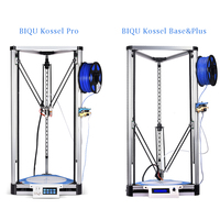 BIQU 3D Printer Kossel Plus/Pro Large Printing Linear Guide Touch Screen PLA Filament Auto Level Bltouch Reprap Delta DIY Metal