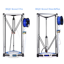 2017 NEW LCD Diy BIQU 3D Printer Kossel Plus Metal printer Auto-Level Reprap Prusa Quiet Delta 3D-Pri with Large Printing Size