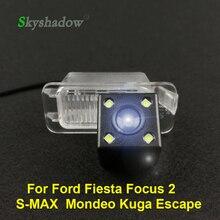 HD Автомобильная CCD камера заднего вида ночного видения, водонепроницаемая парковочная камера для Ford Fiesta Focus 2 S-MAX S Max Mondeo Kuga Escape 2013