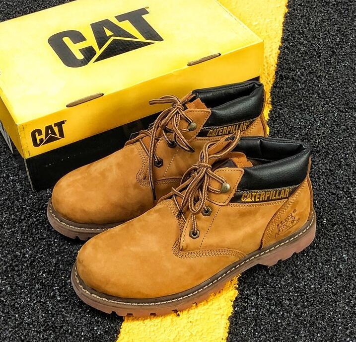 Caterpillar Ampla Mens Botas Aço De Men Segurança Treinador Trabalho Biqueira Cat Sapatos Do C0010 RUUxnESdqw