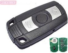 HXLIWLQLUCKY controle remoto 3 Botão 868 MHz para BMW cas3 3/5 séries chave Inteligente frete grátis