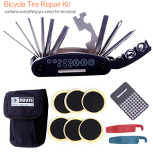 Bicycle repair tool supplies Tire Repair Patches Bag Cycling Kits 23 x 10 6cm D30