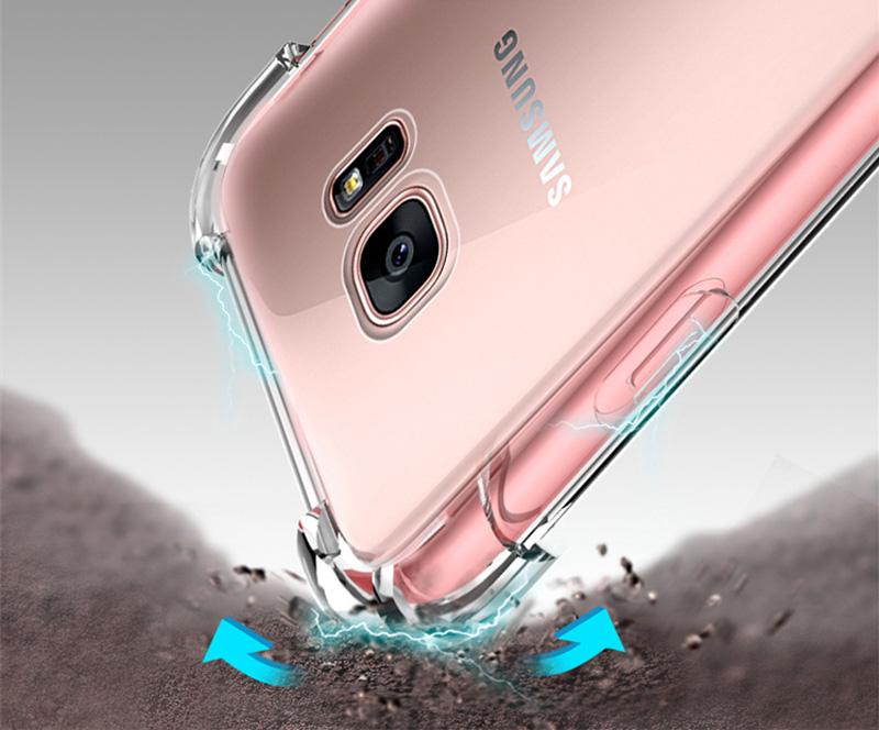 Clear Samsung Galaxy S8, S8 Plus Case 11