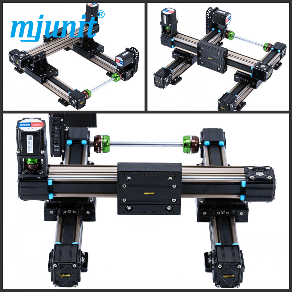 mjunit MJ50 xy axis with 800x800mm stroke length linear high speed application linear guideway direct mountmjunit MJ50 xy axis with 800x800mm stroke length linear high speed application linear guideway direct mount