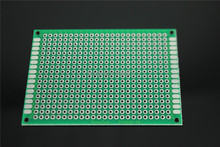 PCB Board Universal Board Double(Single) Faced Tin Plate 50mm*70mm*1.6mm 5*7CM Test Board 5PCS Free Shipping