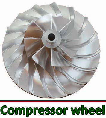 compressor wheel use for rc jet engine parts on Aliexpress