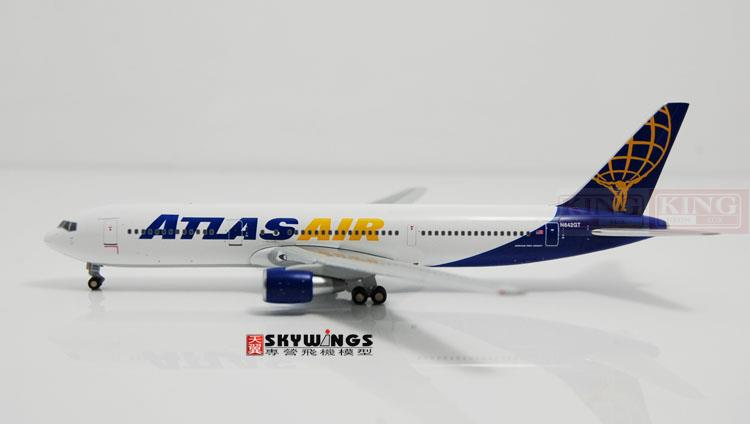 GJGTI1223 B767-300ER 1:200 GeminiJets Commercial Atlas air jetliners plane model hobby купить