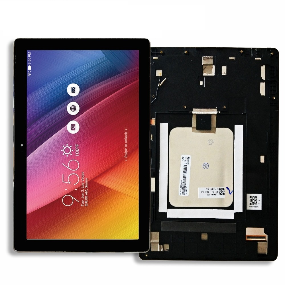 Assemblée de numériseur d'écran tactile de NV101WUM-N52 d'affichage à cristaux liquides compatible pour ASUS ZenPad 10 Z301M Z301ML Z301MFL P028 P00L Z300M P00C