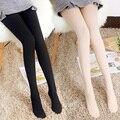 Mulher Sexy Meia-calça Meias De Veludo Meias de Cores Doces meias Passo Pé Femme collant Sem Costura meias de nylon de Alta elasticidade