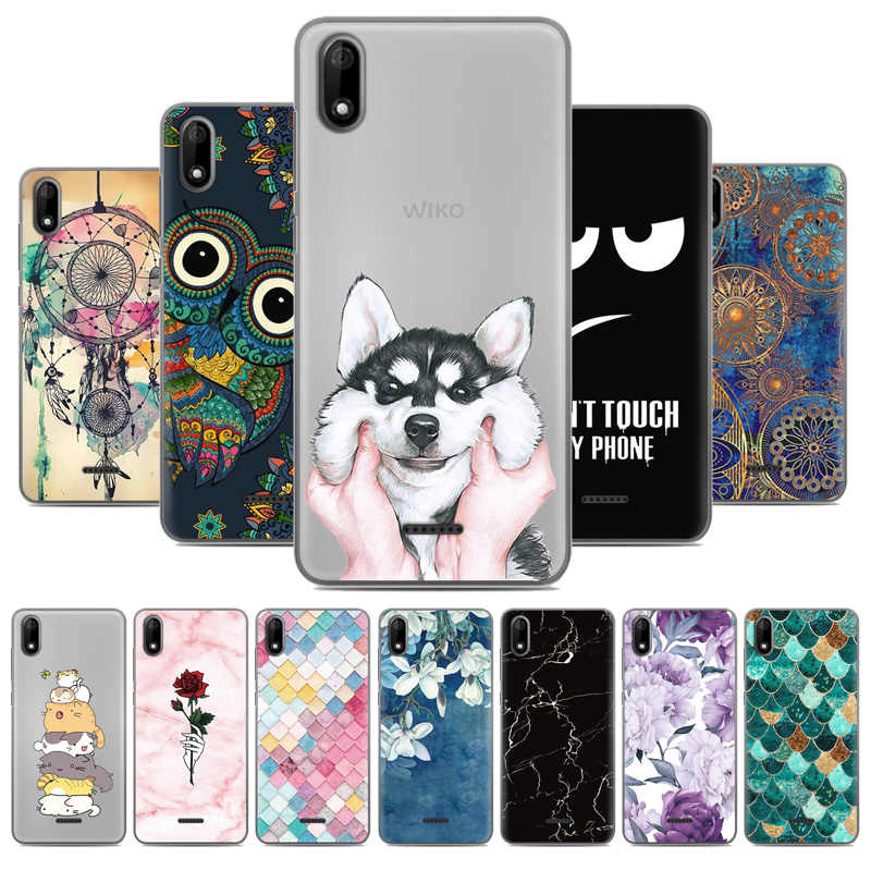 buy good professional sale entire collection JURCHEN Phone Case For Wiko Y60 Case For Wiko Y 60 Cover 3D ...
