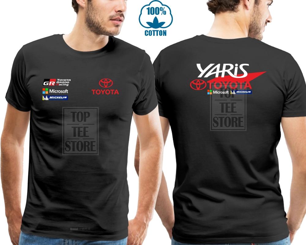 Limited   T     Shirt   Toyota Yaris Gazoo Racer Wrc Corolla Jari Matti Sportive Car