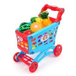 Моделирование супермаркета корзина для покупок ролевые игры игрушка мини пластиковая тележка играть игрушка подарок для детей играть роль...