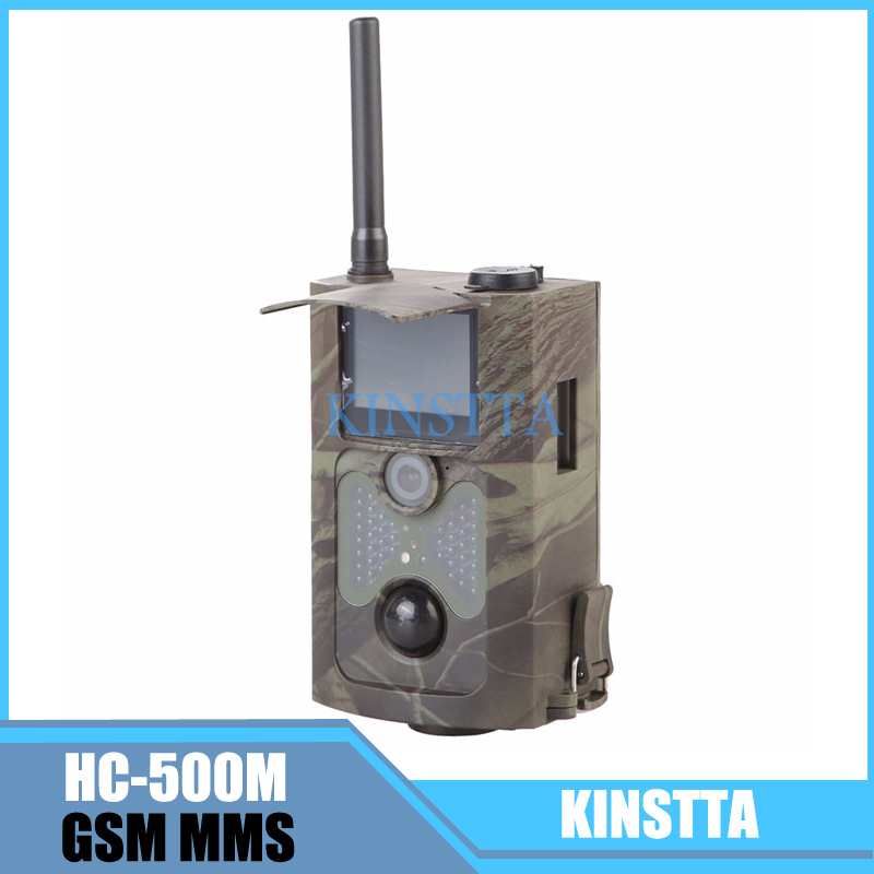 HC-500m Gprs MMS Email Notification Scouting Hunting Camera Digital Infrared Trail Camera 12MP HD Video Cameras 2.0 Inch LCD